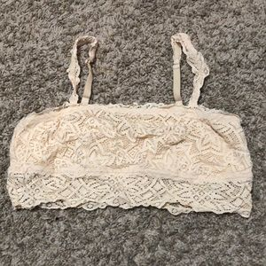 NWOT Aerie Bandeau with Removable Straps